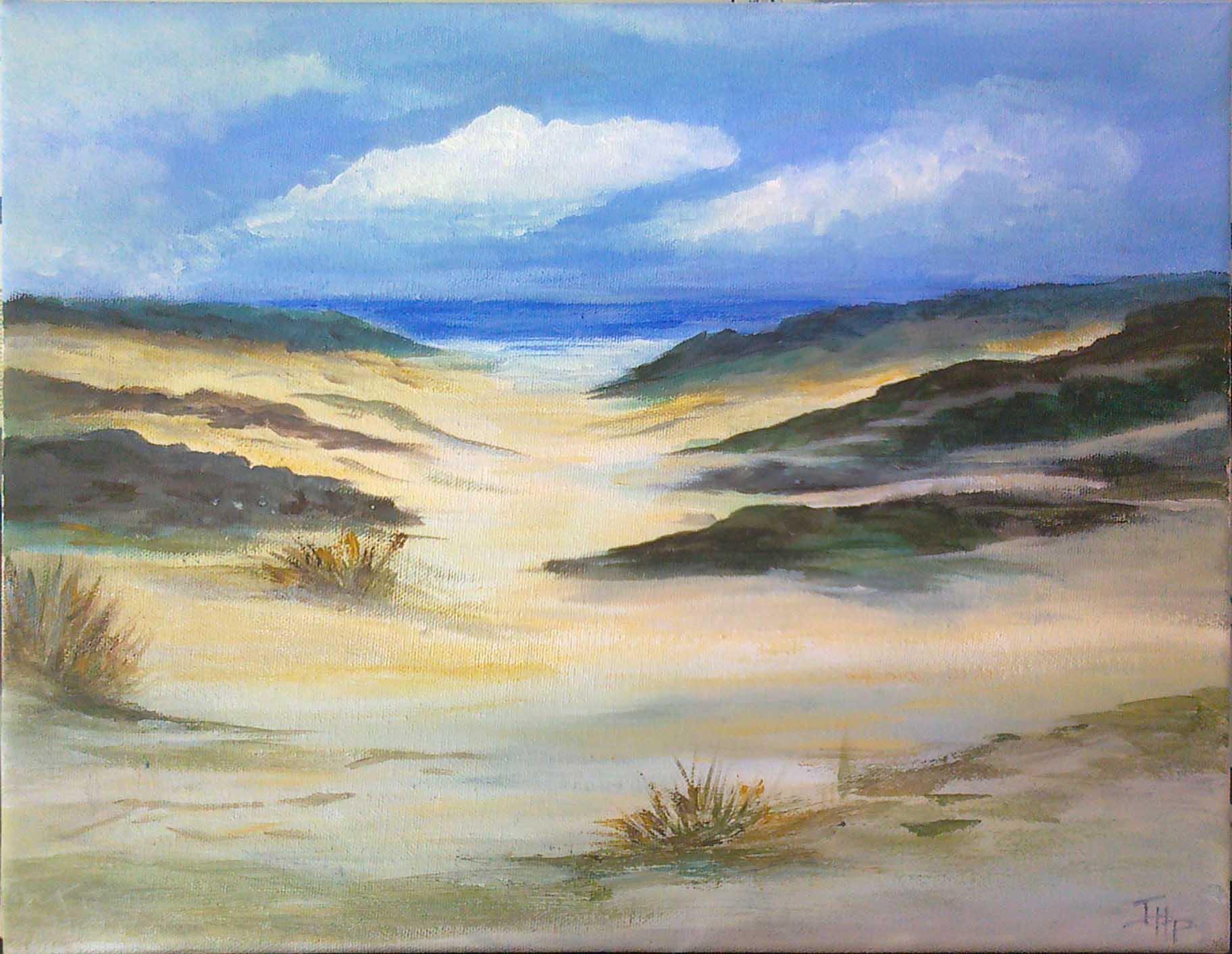 Chemin de la dune